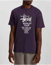 Stussy - Solid Tour SS Tee