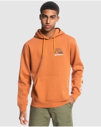 Quiksilver - Mens First Up Recycled Hoodie