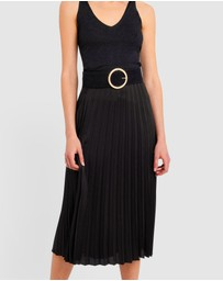 Forcast - Katie Pleated Skirt