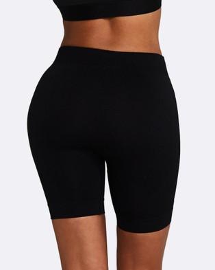 Nicky Kay Seamless Bike Shorts - Shorts (Black)