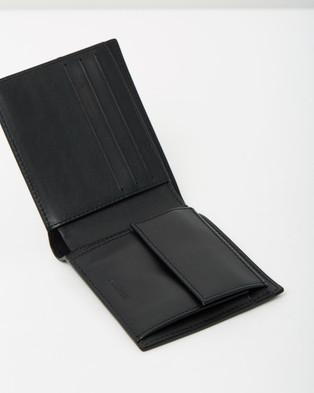 Lacoste Men's Coin Billfold - Wallets (Black)
