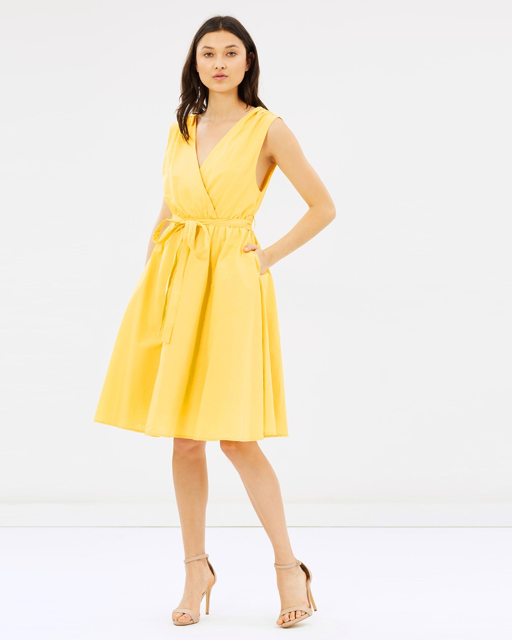 IMONNI Belle Dress Dresses Canary Belle Dress