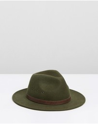 Billy Bones Club - Jungle Green Fedora
