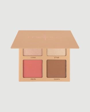 Mellow Cosmetics Star Dust Palette Light to Medium Beauty Light Medium