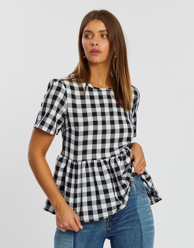 Ria Gingham Top by Atmos&Here