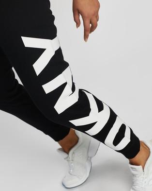 DKNY Side Logo Sweatpants - Track Pants (Black)