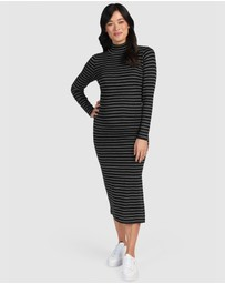 Pea in a Pod Maternity - Perla Merino Nursing Dress