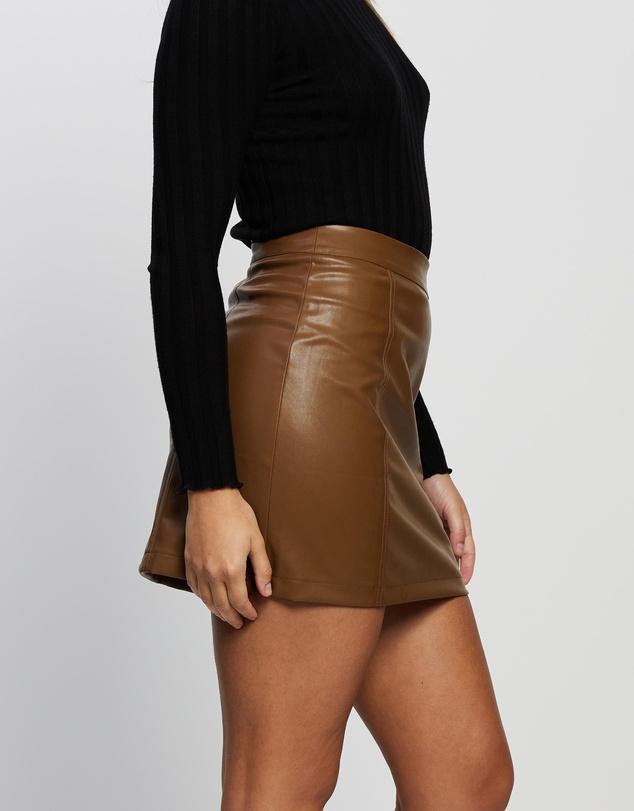 Women Goldie Mini Skirt
