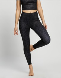 Beyond Yoga - Lux High-Waisted Midi Leggings