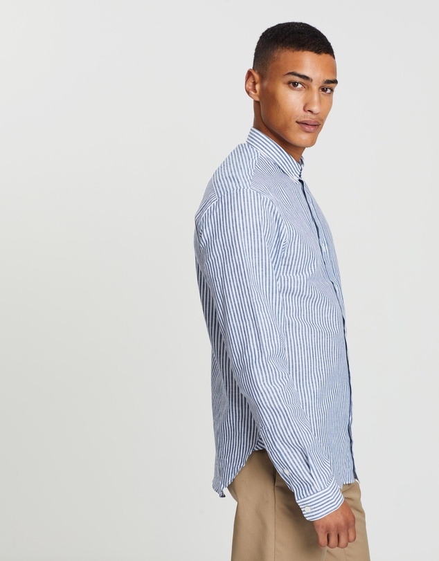 Maison Labiche - Slim Fit Linen-Cotton Shirt