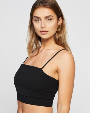 4th & Reckless Aiden Top - Cropped tops (Black)