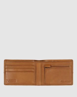 Billabong Downtown RFID Slim Line Wallet - Wallets (TAN GRAIN)