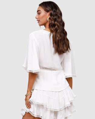 Ministry of Style Euphoria Top - Tops (white)