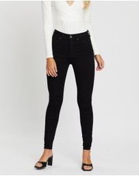 ONLY - Global High-Waisted Skinny Denim Jeans