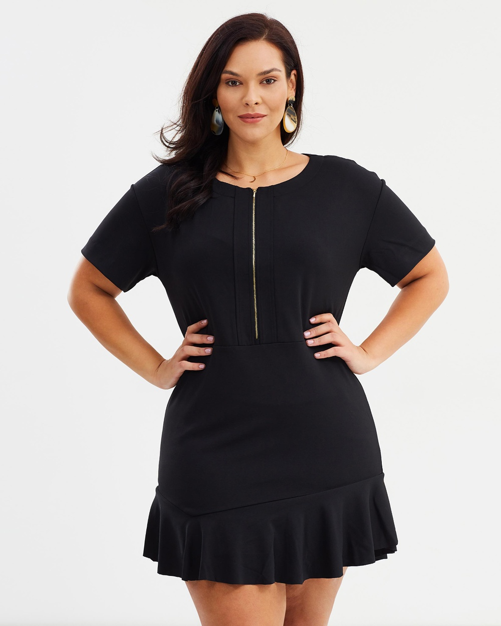 Violeta by MNG Alex Dress Dresses Black Alex Dress