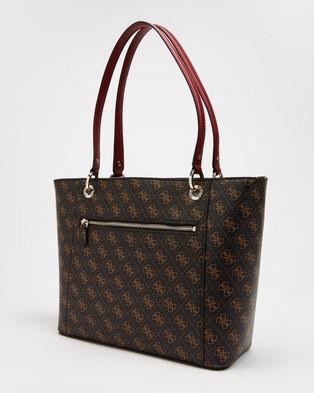 Guess Noelle Elite Tote - Bags (Brown)