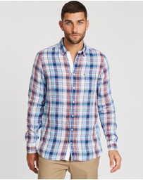 Tommy Hilfiger - Slim Small Linen Check Shirt