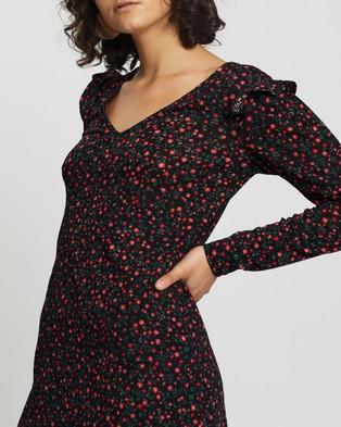 M.N.G Andra Dress - Printed Dresses (Red)