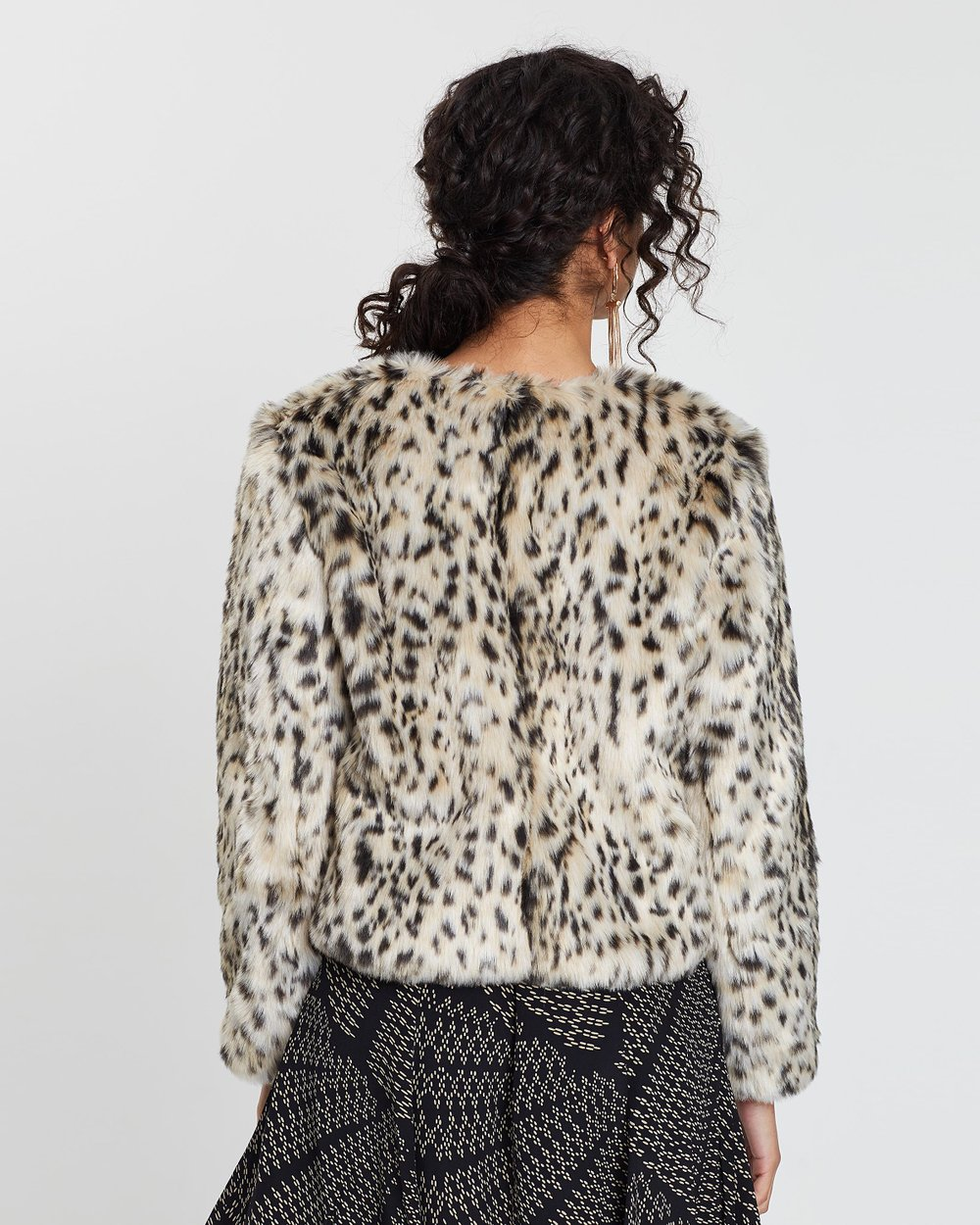 967faf09ca16 Cropped Snow Leopard Coat by J.Crew Online | THE ICONIC | Australia