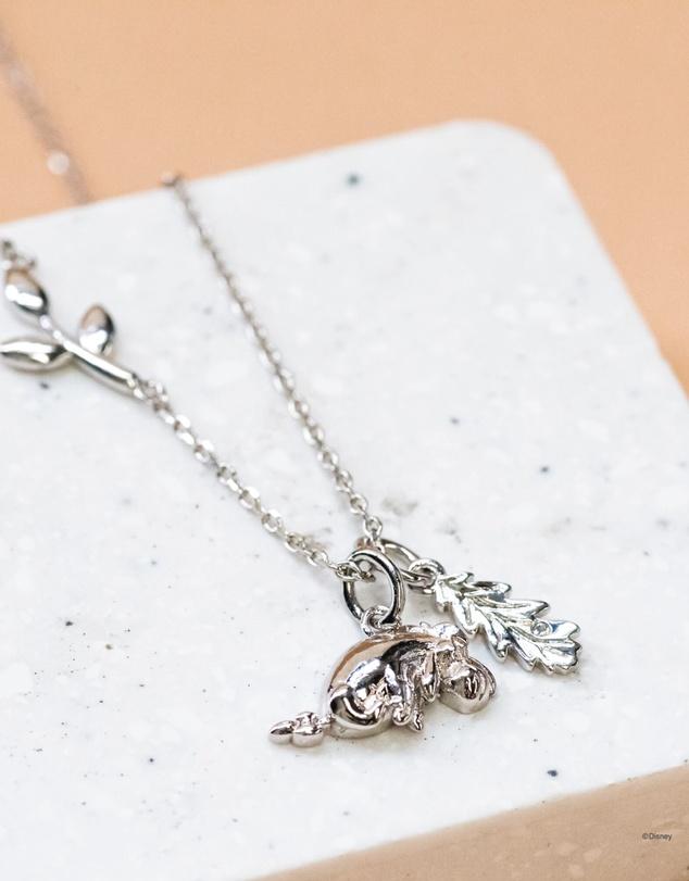 Women Disney Necklace Eeyore Silver