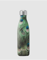 S'well - Insulated Bottle Flora & Fauna Collection 500ml Peacock