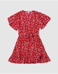Designer Kidz - Ruby Wrap Dress