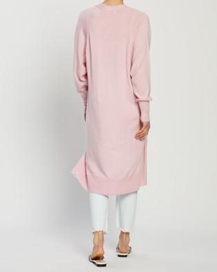 Mcintyre Pieta Merino Lite Cardigan - Jumpers & Cardigans (Pink)