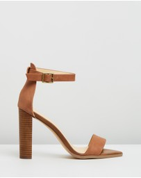 Atmos&Here - Lara Leather Block Heels