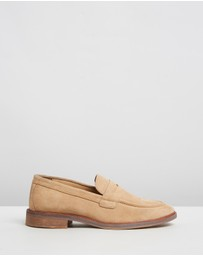 Double Oak Mills - Lynton Suede Loafers