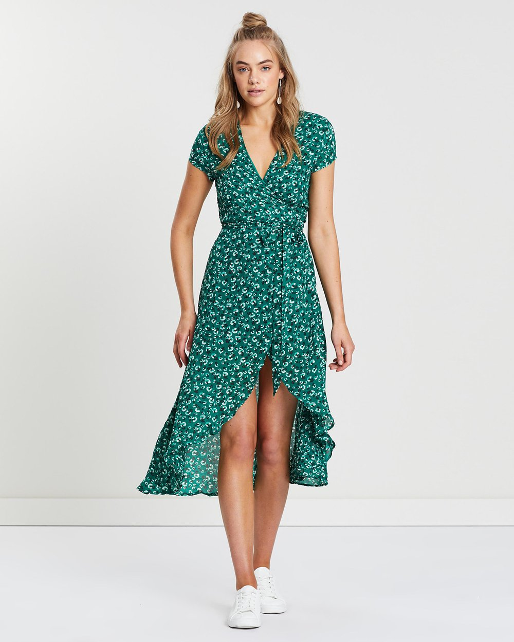 d4c211590466b Reese Wrap Dress by Lulu & Rose Online | THE ICONIC | Australia