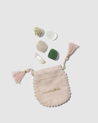 Conscious Calendar Co. Crystal Love Kit - Tools (Pink)