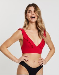 Sea Level Australia - Frill Bra Top