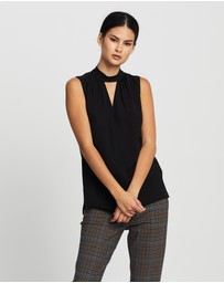 Theory - Neck Band Shell Top