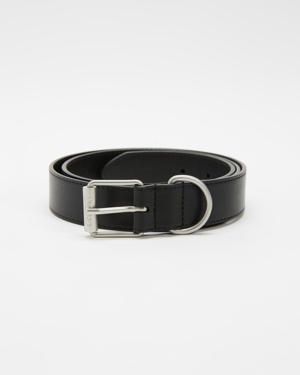 Kenzo Army Belt Belts Black