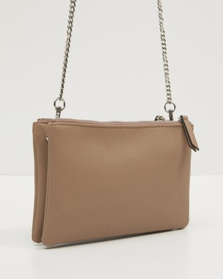 Tony Bianco Ilias - Handbags (Nude)