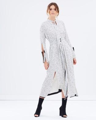 KITX – Velvet Spot Dress – Dresses (Marle Spot)