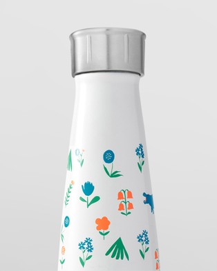 S'well S'ip by S'well 450ml Insulated Bottle - Water Bottles (White)