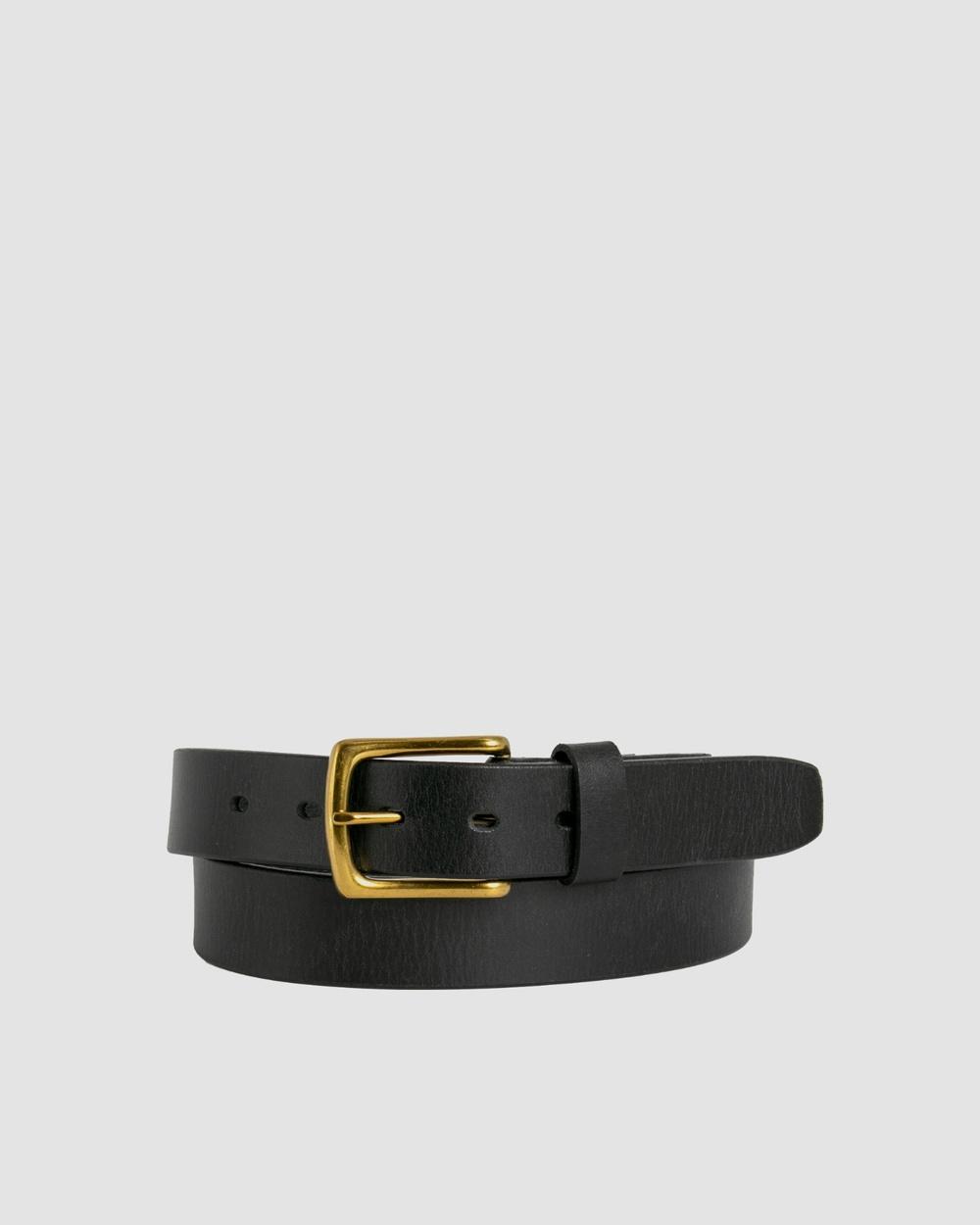 Loop Leather Co Bourke Belts Black