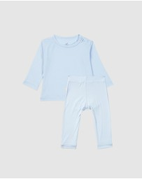 Boody Organic Bamboo Eco Wear - Baby Long Sleeve Top & Pants (2 items)