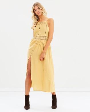 Amuse Society – Pria Dress Vintage Gold