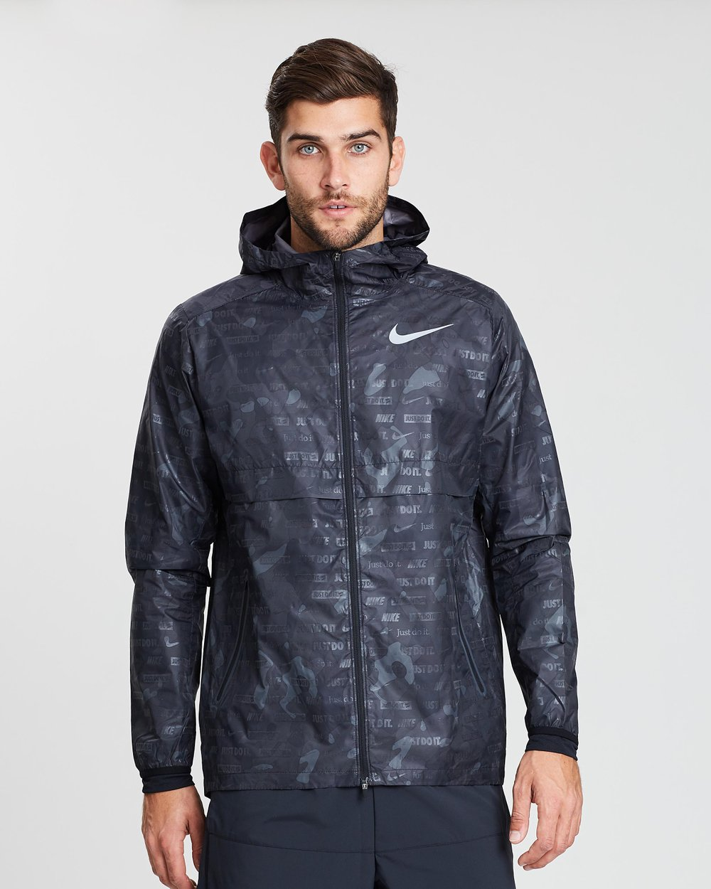 f8d8fe859213 Nike Shield Ghost Flash Camo Jacket by Nike Online