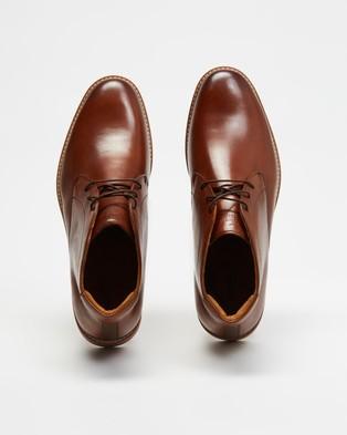 Florsheim Highland Chukka - Boots (Cognac Calf)