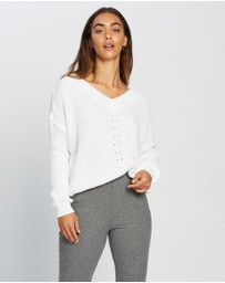 Missguided - Ruched Front Crop Jumper