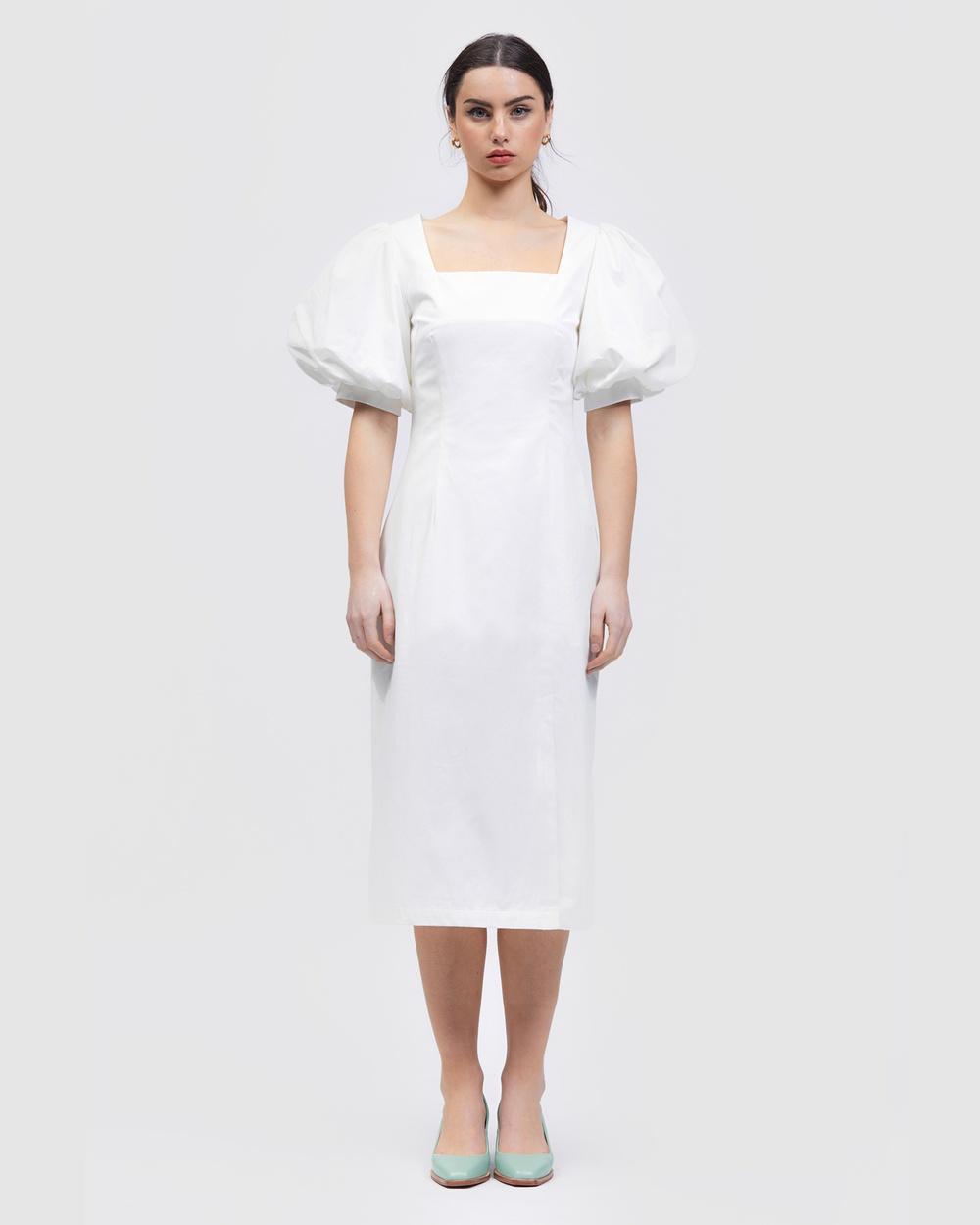 bul La Laja Dress Dresses White