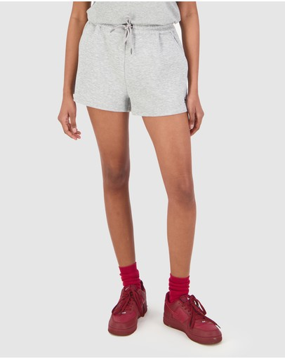 Huffer Blanc Whip It Shorts Grey Marle