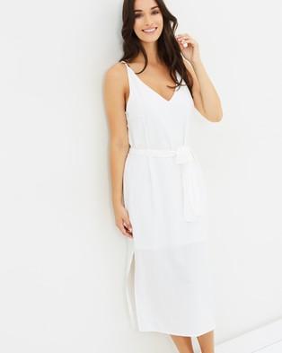 Cooper St – Measure Of My Dreams Midi Dress White