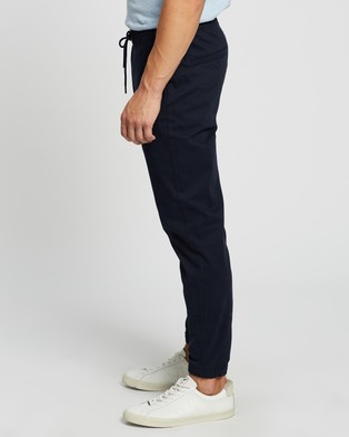 Abercrombie & Fitch Sateen Joggers - Pants (Sky Captain)
