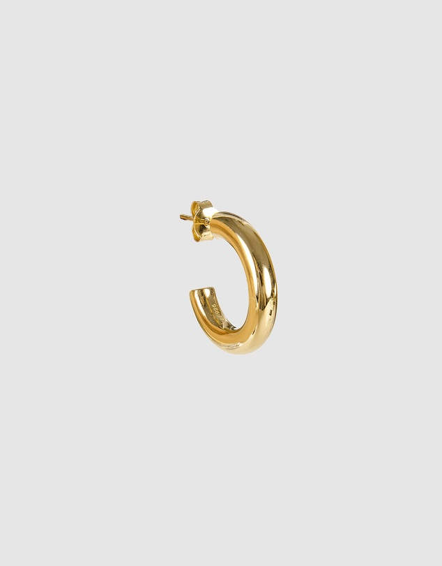 Women Basic Gold Hoops
