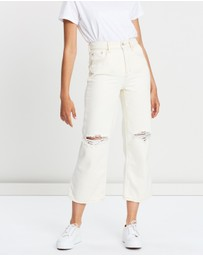 Free People - Ranger Denim Wide Leg Jeans