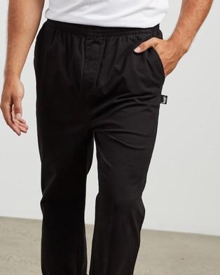 Stussy Basic Corp Beach Pants - Pants (Black)